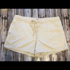 Roxy vintage Khaki Drawstring Shorts Size 5